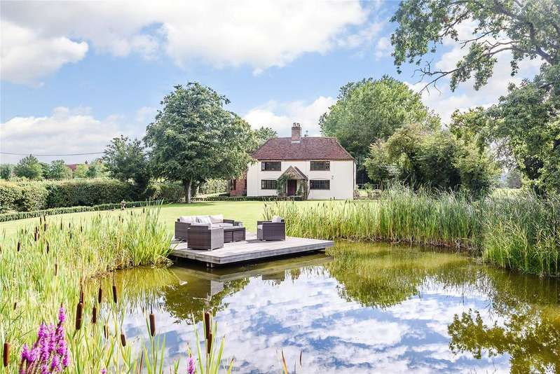 5 Bedrooms Detached House for sale in Mattingley, Hook, Hampshire