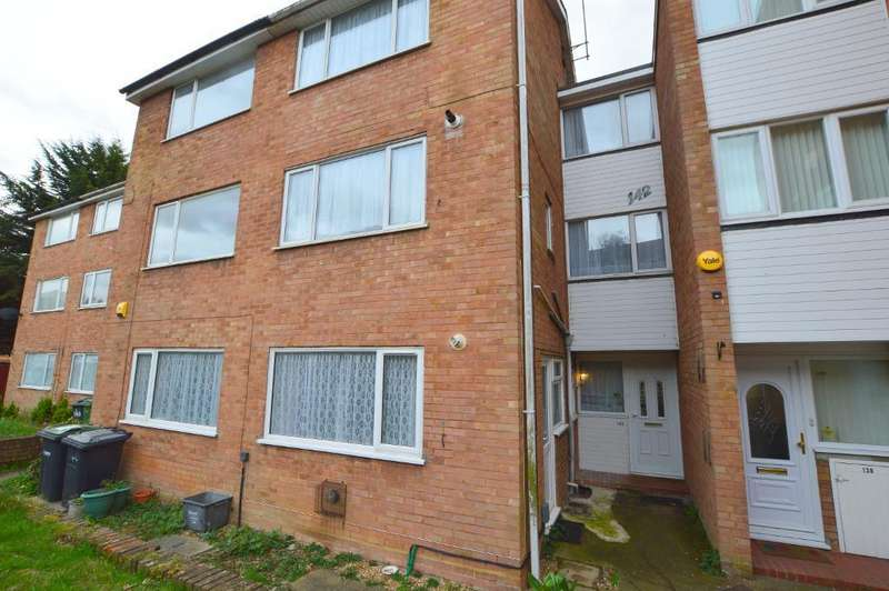 2 Bedrooms Maisonette Flat for sale in Brendon Ave, Vauxhall Park, Luton, Bedfordshire, LU2 9LH