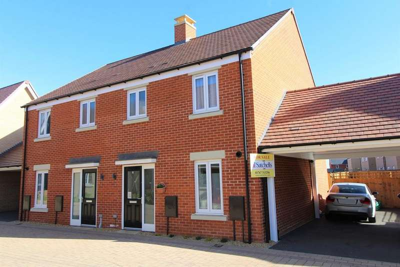 3 Bedrooms Semi Detached House for sale in Darwin Drive, Biggleswade, SG18