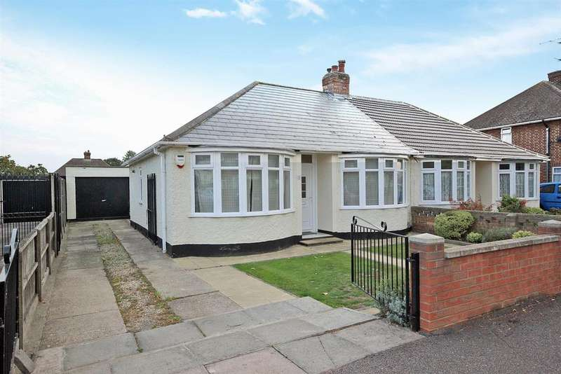 2 Bedrooms Semi Detached Bungalow for sale in Eaton Road, Kempston