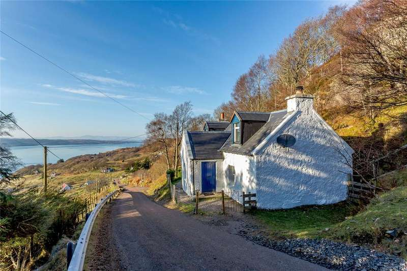 2 Bedrooms Detached House for sale in Diabaig, Torridon, Achnasheen, Ross-Shire