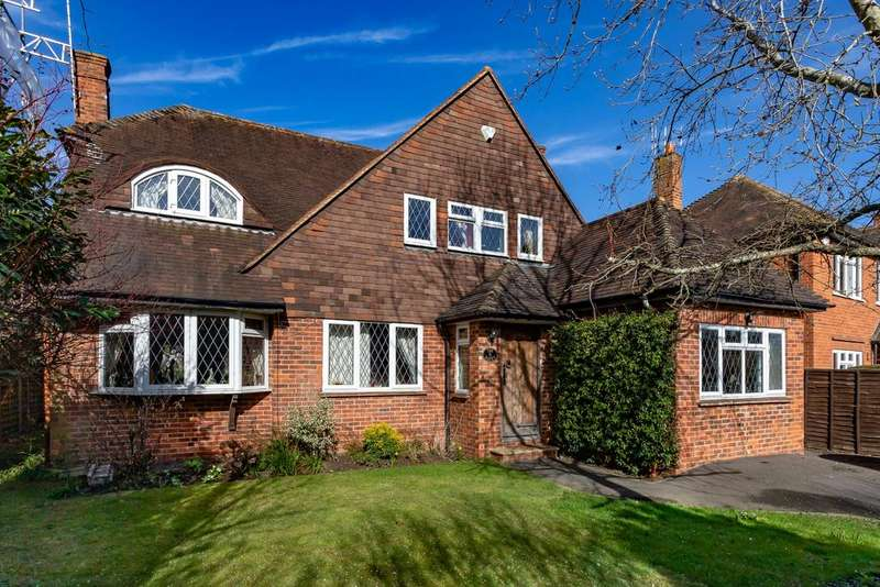4 Bedrooms Detached House for sale in Westfield Road, Maidenhead