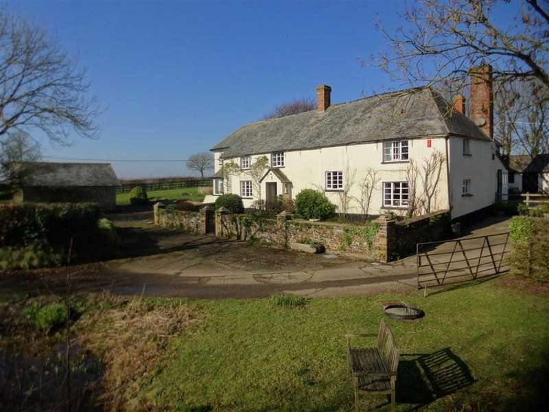 5 Bedrooms Detached House for sale in Chawleigh, Chawleigh, Chulmleigh, Devon, EX18