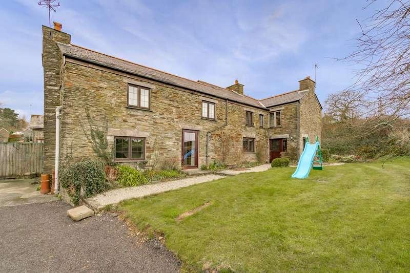 4 Bedrooms Detached House for sale in Dobwalls, Liskeard