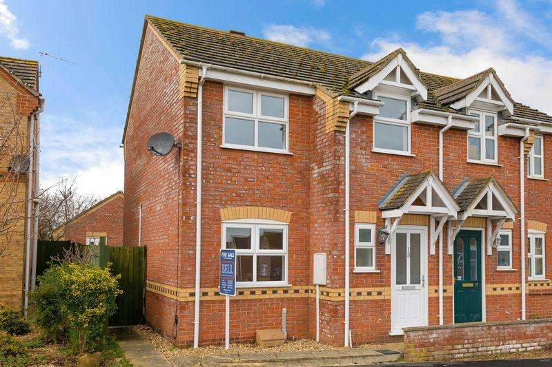 3 Bedrooms Semi Detached House for sale in Thomas Gibson Drive, Horncastle