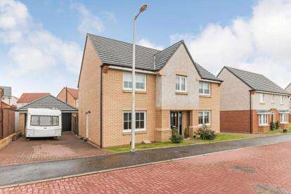 4 Bedrooms Detached House for sale in Pappin Drive, Motherwell, North Lanarkshire