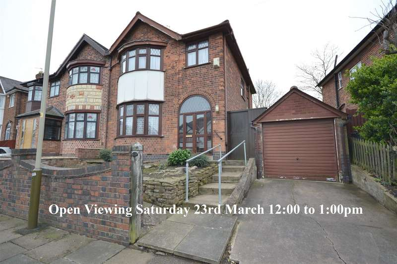3 Bedrooms Semi Detached House for sale in Homeway Road, Leicester