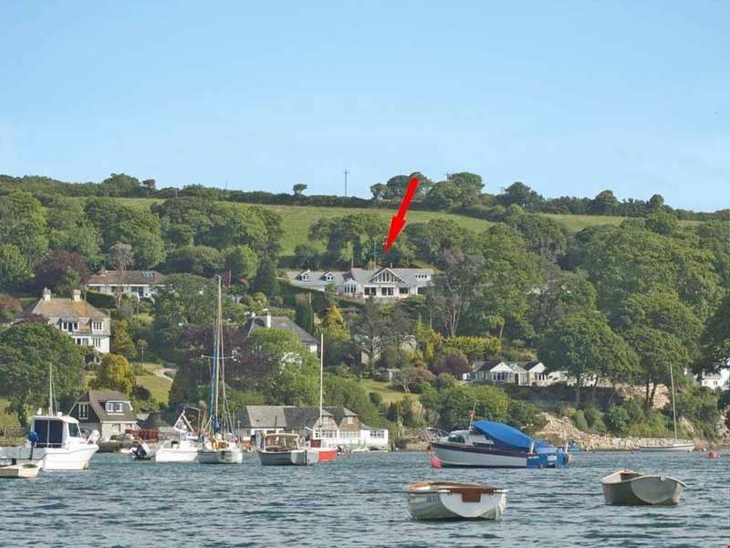 4 Bedrooms Detached House for sale in Port Navas, Falmouth, South Cornwall