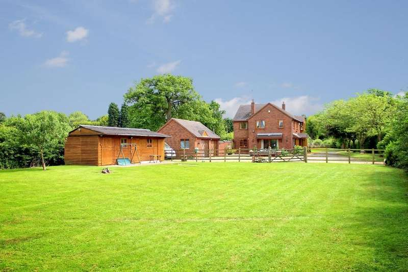 4 Bedrooms Detached House for sale in Over Whitacre, Coleshill, Birmingham