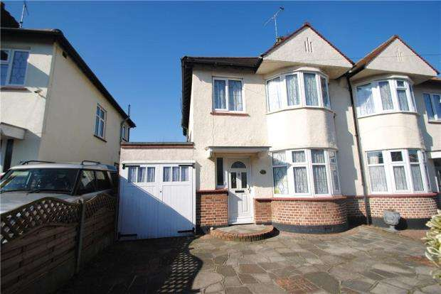 3 Bedrooms Semi Detached House for sale in Parkstone Drive, Southend-On-Sea