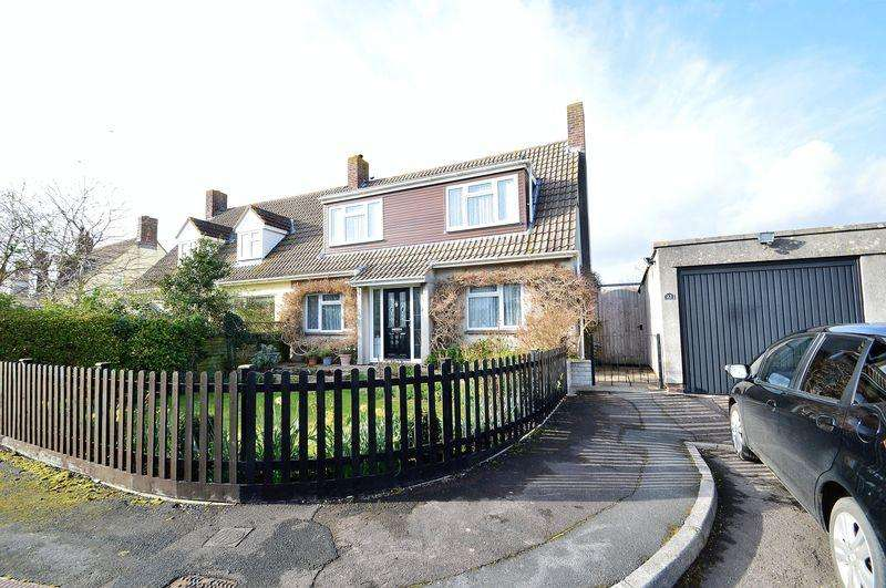 3 Bedrooms Semi Detached House for sale in Peaceful cul de sac on the fringes of Congresbury