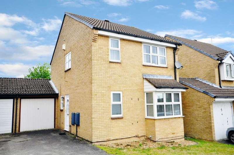 3 Bedrooms Link Detached House for sale in Chatton Close, Lower Earley, Reading, RG6 4DY
