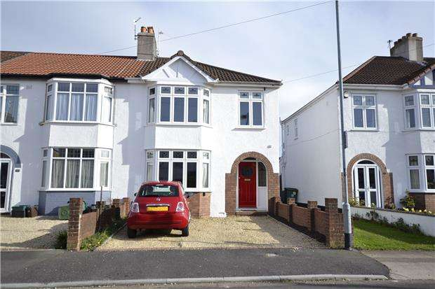 3 Bedrooms End Of Terrace House for sale in Tuffley Road, Bristol, BS10 5EG
