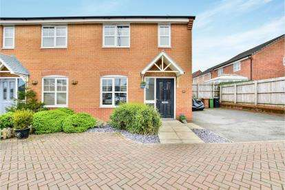 3 Bedrooms Semi Detached House for sale in Cotton Mills Drive, Newton, Hyde, Greater Manchester