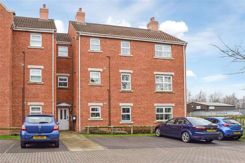 3 Bedrooms Apartment Flat for sale in Bouch Way, Barnard Castle, Durham, DL12