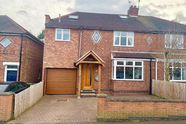 4 Bedrooms Semi Detached House for sale in Clarence Road, Enderby, Leicester, LE19
