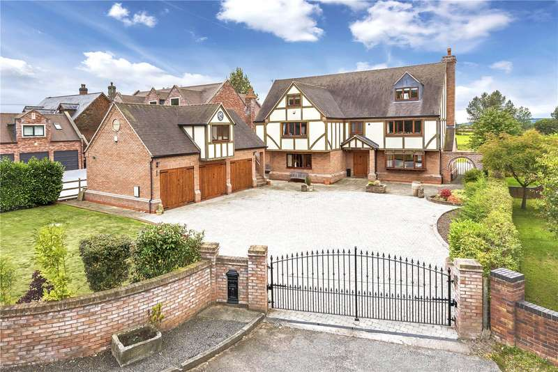 6 Bedrooms Detached House for sale in Highworth, Bratton Road, Bratton, Telford, Shropshire, TF5