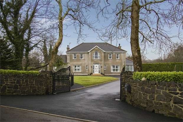 4 Bedrooms Detached House for sale in Magheramore Road, Garvagh, Coleraine, County Londonderry