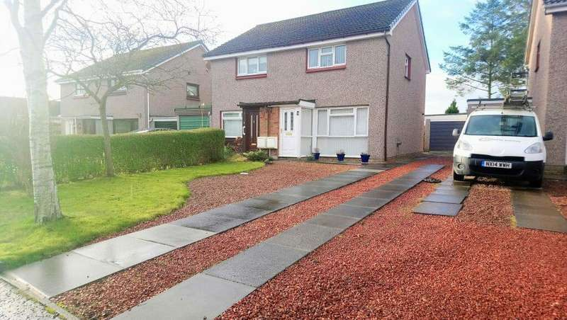 2 Bedrooms Semi Detached House for sale in 14 Rannoch Drive, Dunfermline KY12