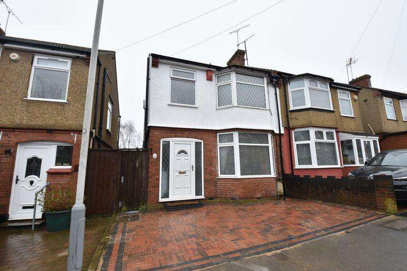 3 Bedrooms Semi Detached House for sale in Alton Road, Luton