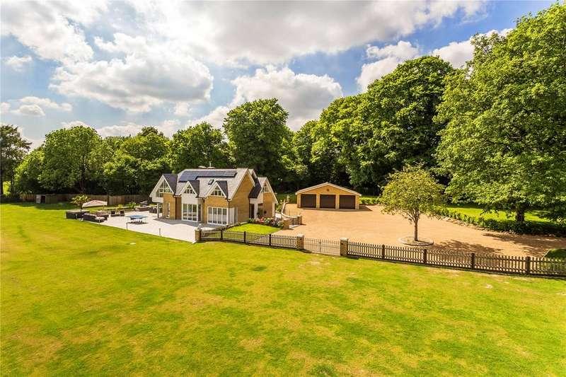 4 Bedrooms Detached House for sale in Hosey Common Road, Crockham Hill, Edenbridge, Kent, TN8
