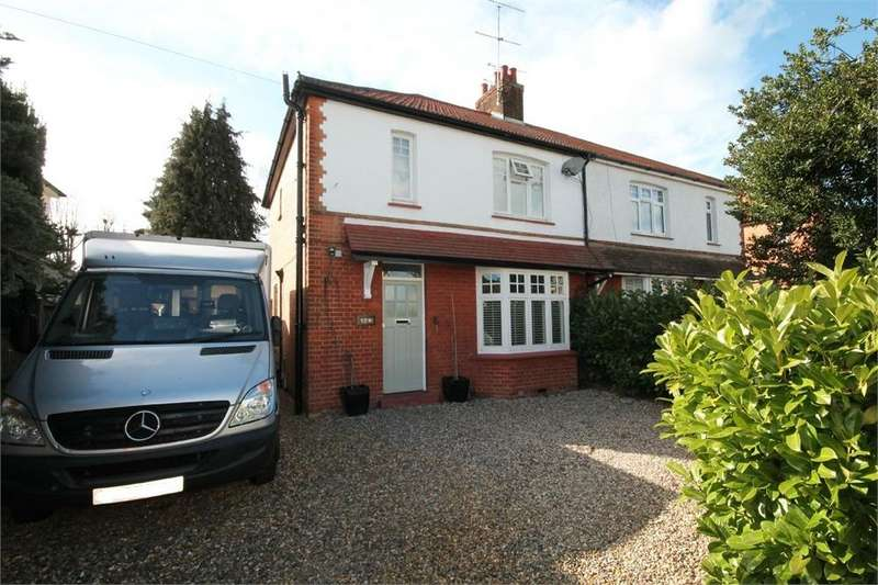 3 Bedrooms Semi Detached House for sale in Fairview Road, Old Town, Hertfordshire