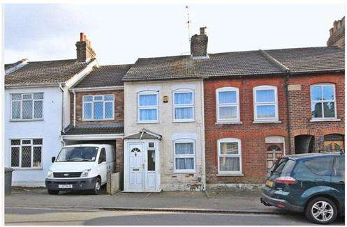 3 Bedrooms Terraced House for sale in Putteridge Road, Luton, Bedfordshire, LU2
