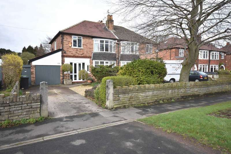 3 Bedrooms Semi Detached House for sale in LONDON ROAD SOUTH, POYNTON