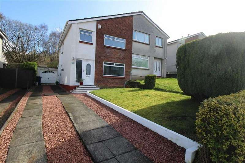 3 Bedrooms Semi Detached House for sale in Duthie Road, Gourock