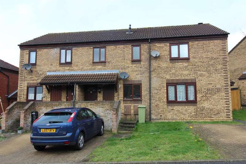 2 Bedrooms Terraced House for sale in Burghley Court, Great Holm, Milton Keynes