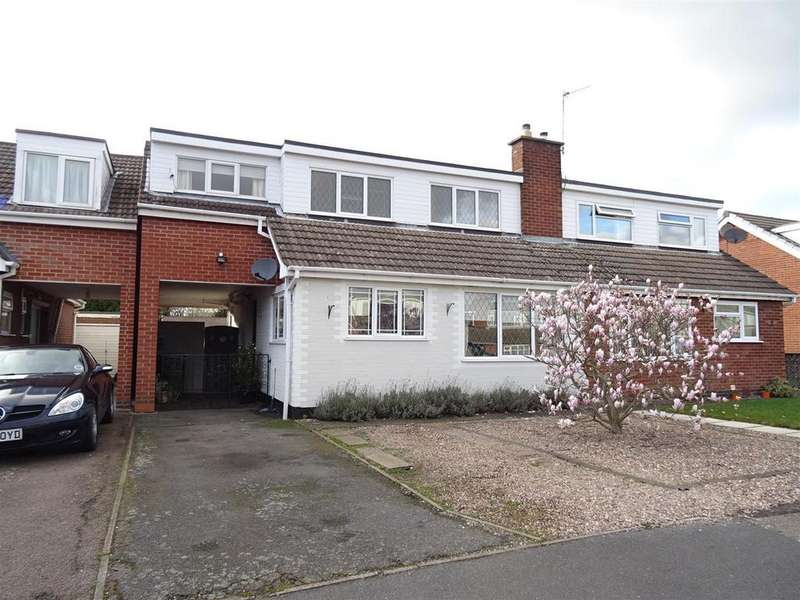 4 Bedrooms Semi Detached House for sale in Windsor Drive, Shepshed, Leicestershire