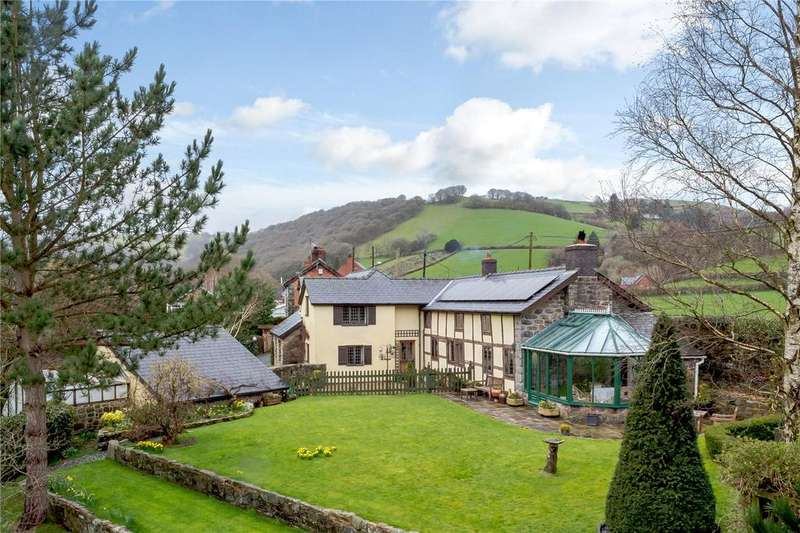 4 Bedrooms Detached House for sale in Llawr-y-Glyn, Caersws, Powys