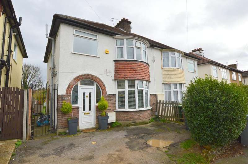 3 Bedrooms Semi Detached House for sale in Richmond Hill, Round Green, Luton, LU2 7JQ
