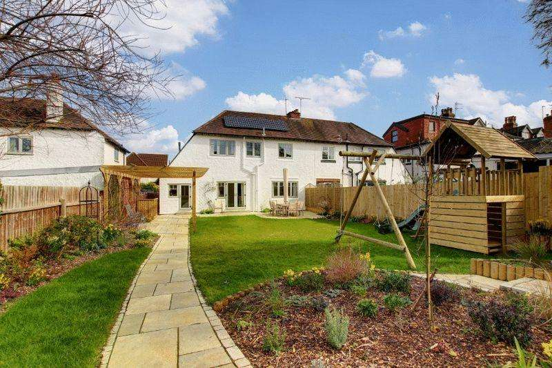 4 Bedrooms Semi Detached House for sale in Waterford Road, Henleaze