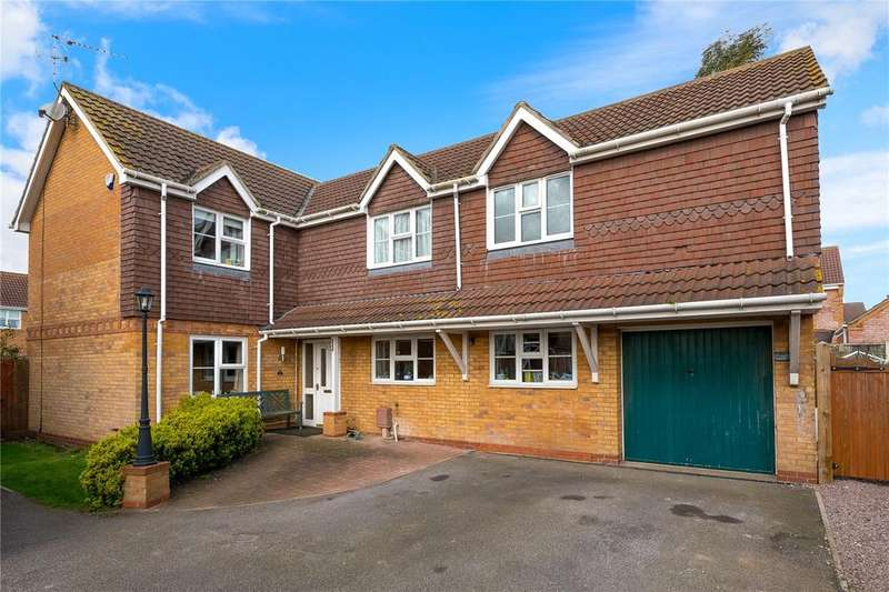 4 Bedrooms Detached House for sale in Larch Close, Ruskington, Sleaford, Lincolnshire, NG34