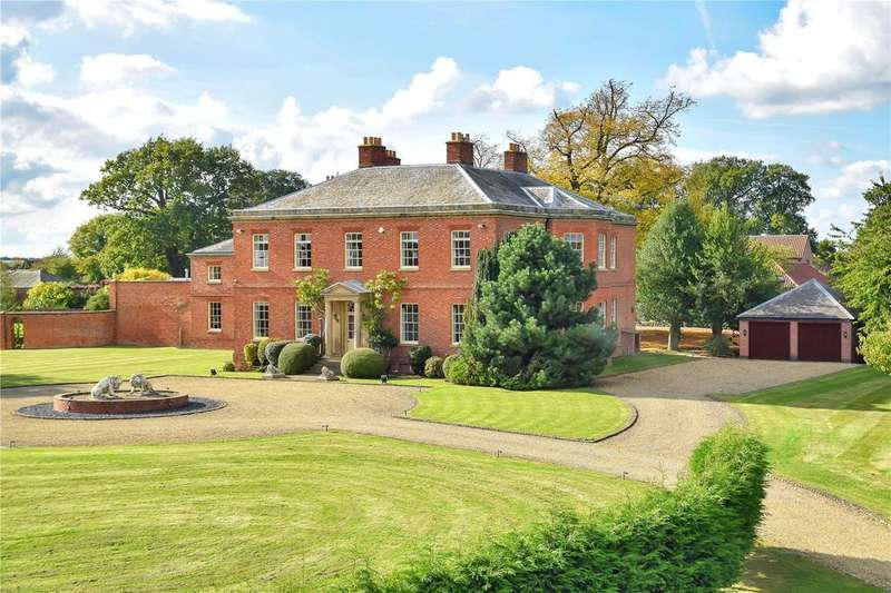 6 Bedrooms House for sale in Syerston Hall Park, Syerston, Newark, Nottinghamshire