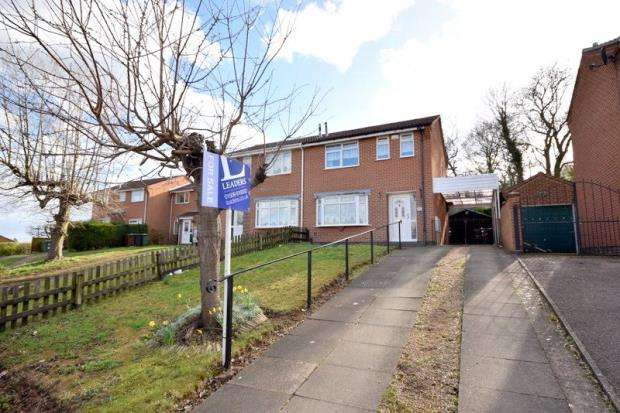 3 Bedrooms Semi Detached House for sale in Francis Drive, Loughborough, Leicestershire