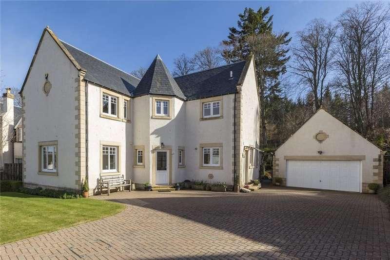 4 Bedrooms Detached House for sale in Harleyburn Court, Melrose, Scottish Borders