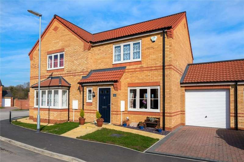 2 Bedrooms Semi Detached House for sale in Stamford Close, Sleaford, Lincolnshire, NG34