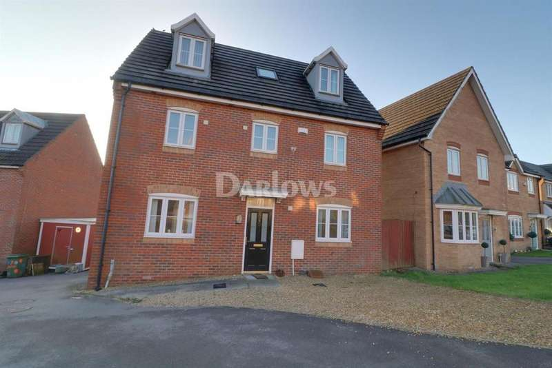 5 Bedrooms Detached House for sale in Cedar Way, Tonyrefail