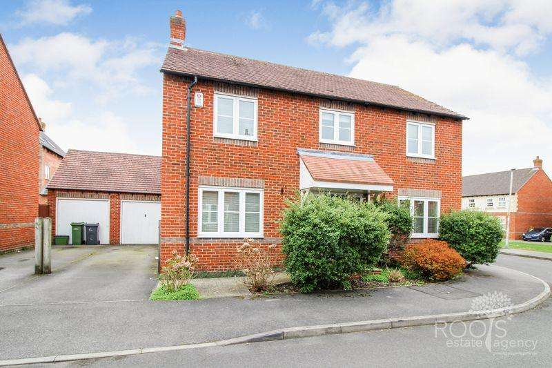 4 Bedrooms Detached House for sale in Deadmans Lane, Thatcham