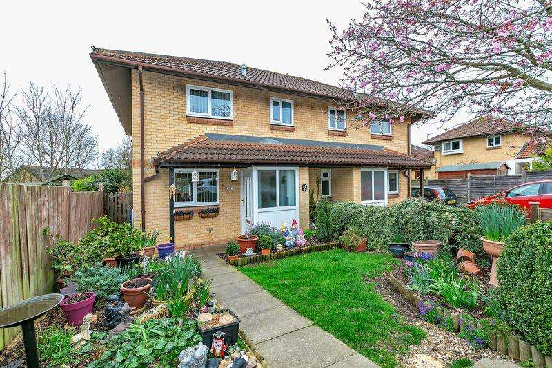3 Bedrooms Semi Detached House for sale in Portchester Court, Milton Keynes