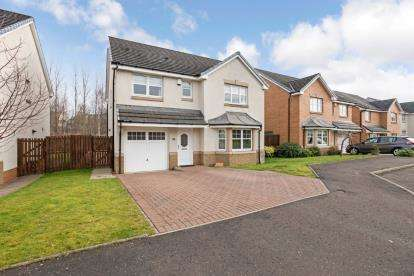 4 Bedrooms Detached House for sale in Liath Avenue, Motherwell
