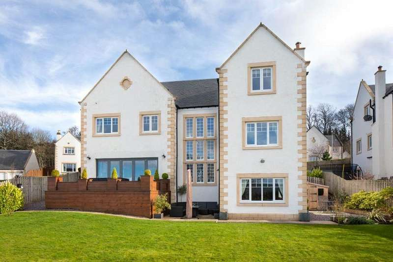 4 Bedrooms Detached House for sale in Harleyburn Court, Melrose, Scottish Borders, TD6
