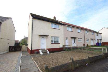 2 Bedrooms End Of Terrace House for sale in Redstone Avenue, Kilwinning, North Ayrshire