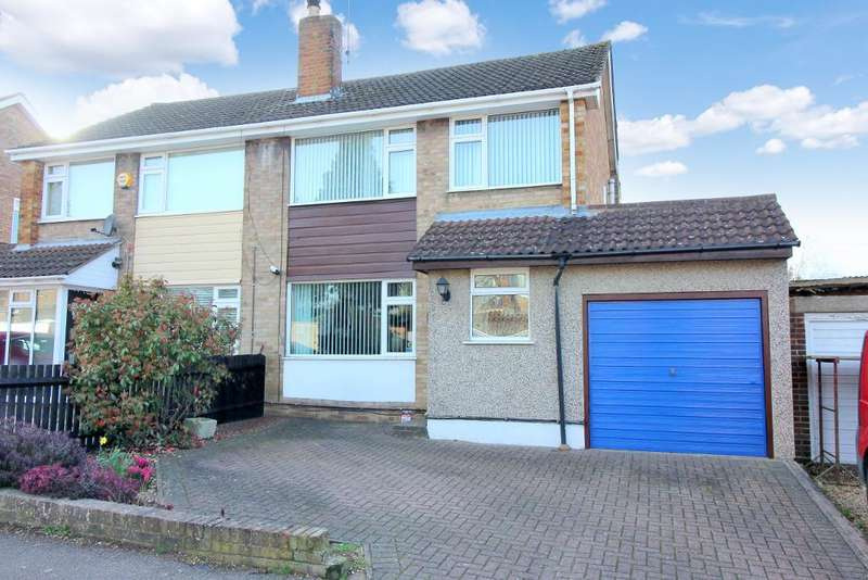3 Bedrooms Semi Detached House for sale in Englefield, Luton, Bedfordshire, LU2 7TD