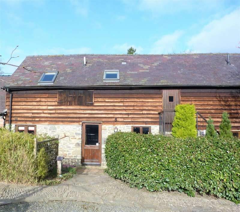 2 Bedrooms Barn Conversion Character Property for sale in Bryncalled Barn, Nr Chapel Lawn, Bucknell, Shropshire