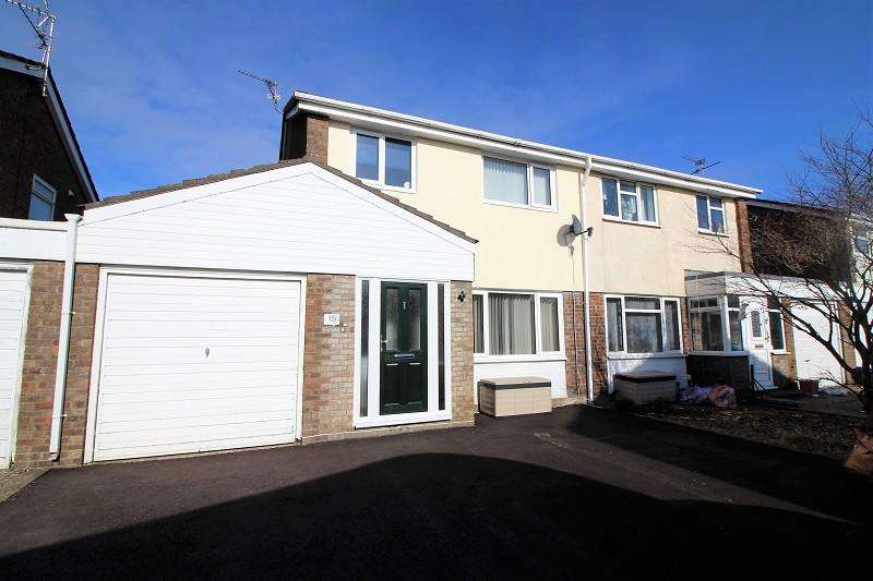 3 Bedrooms Semi Detached House for sale in Swan Close, Caldicot
