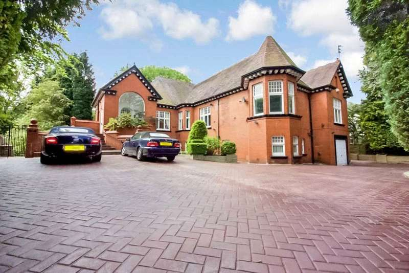 5 Bedrooms Detached House for sale in Old Hall Road, Salford, Greater Manchester, M7