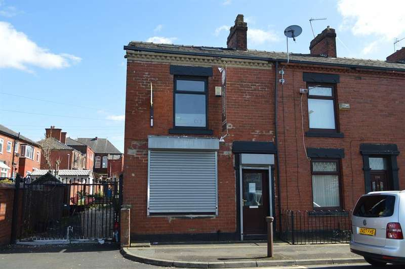 2 Bedrooms End Of Terrace House for sale in Victoria Street, Chadderton, Oldham, OL9 0DA